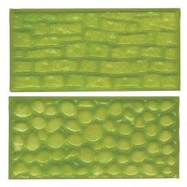 FMM Akmenų ir plytų tekstūros kilimėliai