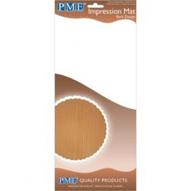 PME Basketweave Dp Impression Rolling Pin - 25cm
