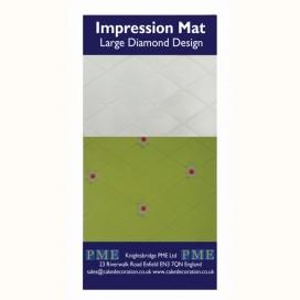 PME tekstūrinis kilimėlis - dideli rombai