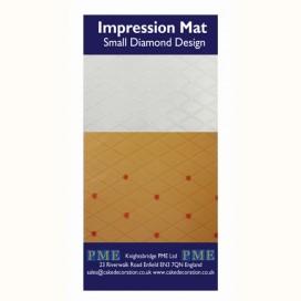 PME tekstūrinis kilimėlis - maži rombai