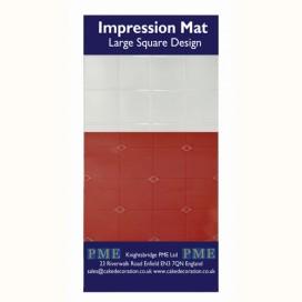 PME tekstūrinis kilimėlis - dideli kvadratai
