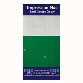 PME tekstūrinis kilimėlis - maži kvadratai
