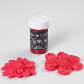 Sugarflair vyšnių raudonos spalvos geliniai dažai - 25g.