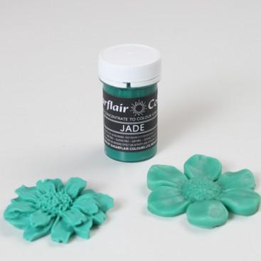 Sugarflair nefrito (pastel jade) spalvos koncentruoti geliniai dažai - 25g.