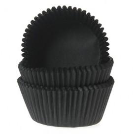 House of Marie juodi (black) keksiukų popierėliai - 50vnt.