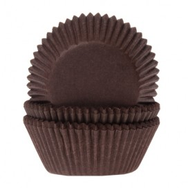 House of Marie brown baking cups - 50pcs.