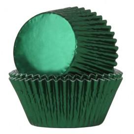 House of Marie foil black baking cups - 24pcs.