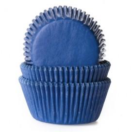 House of Marie mėlyni (jeans blue) keksiukų popierėliai - 50vnt.