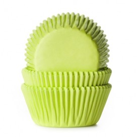 House of Marie grass green baking cups - 50pcs.