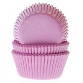 House of Marie šviesiai rožiniai keksiukų popierėliai - 50vnt.