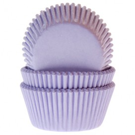 House of Marie lilac baking cups - 50pcs.