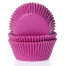 House of Marie rožiniai (pink) keksiukų popierėliai - 50vnt.