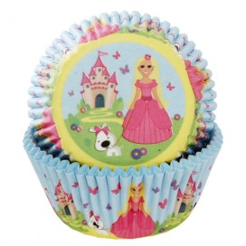 House of Marie princess baking cups - 50pcs.