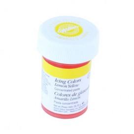 Wilton geltoni (lemon yellow) geliniai maistiniai dažai - 28g.