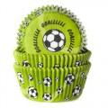 House of Marie keksiukų popierėliai su futbolo kamuoliu - 50vnt.