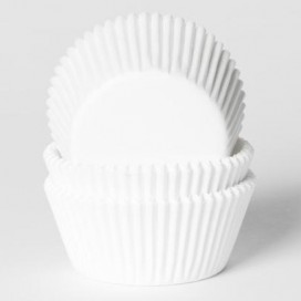 House of Marie White mini baking cups with - 50pcs.