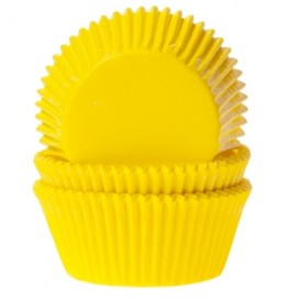 House of Marie White baking cups with - 50pcs.