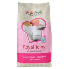 FunCakes baltas cukrinio glajaus mišinys (royal icing) - 1kg