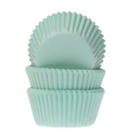 House of Marie mint mini baking cups with - 60pcs.