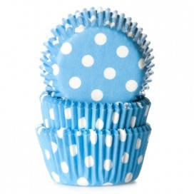 House of Marie blue mini baking cups with - 60pcs.