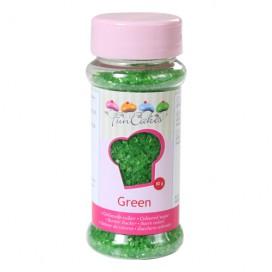 FunCakes žalios spalvos cukrus - 80g