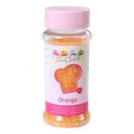 FunCakes oranžinės spalvos cukrus - 80g
