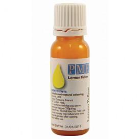 PME geltonos (Lemon Yellow) spalvos naturalūs maistiniai dažai - 25g