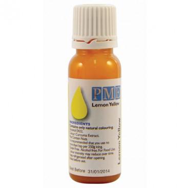 PME citrinos geltonos spalvos maisto dažai - 25g