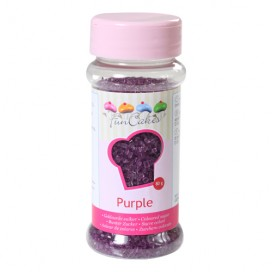 FunCakes violetinės spalvos cukrus - 80g