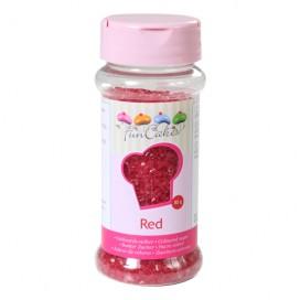 FunCakes raudonos spalvos cukrus - 80g