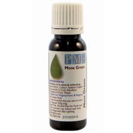PME žalios (Moss Green) spalvos naturalūs maistiniai dažai - 25g