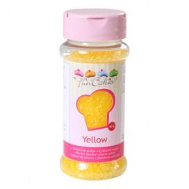 FunCakes geltonos spalvos cukrus - 80g