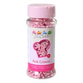 FunCakes pink crowns - 45g