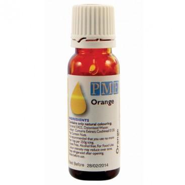 PME oranžinės spalvos naturalūs maistiniai dažai - 25g