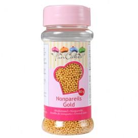 FunCakes gold nonpareils - 80g