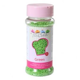 FunCakes green nonpareils - 80g