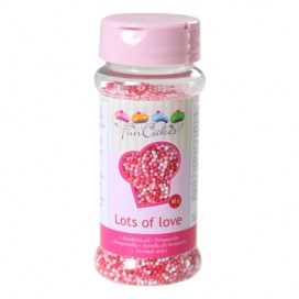 FunCakes lots of love nonpareils - 80g