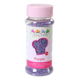 FunCakes violetiniai smulkūs pabarstukai - 80g