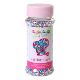 FunCakes red/white/blue nonpareils - 80g
