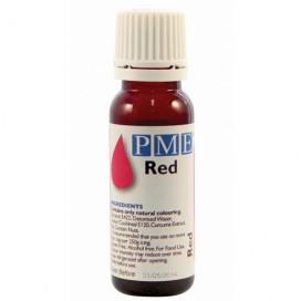 PME raudonos spalvos naturalūs maistiniai dažai - 25g