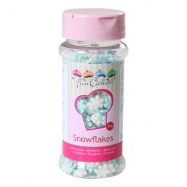 FunCakes white/blue snowflakes - 50g