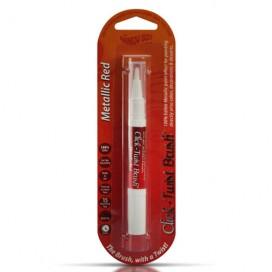 RD raudonas (Metallic Red) Click-Twist Brush® maistinis teptukas