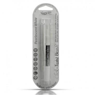 RD Baltas (Pearlescent White) Click-Twist Brush® maistinis teptukas