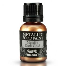RD Metallic Dark Gold Food Paint - 25ml