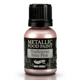 RD Metallic Pearlescent Lilac Food Paint - 25ml