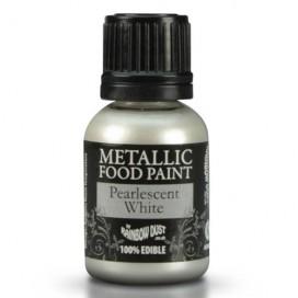 RD Metallic perliniai (Pearlescent White) dažai - 25ml