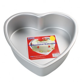 PME kepimo forma (širdelė) - 30 x 7,5cm