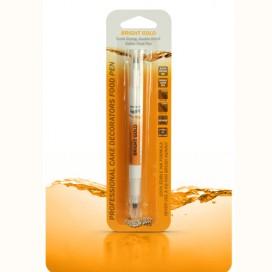 RD Auksinis (Bright Gold) Dvipusis maistinis rašiklis