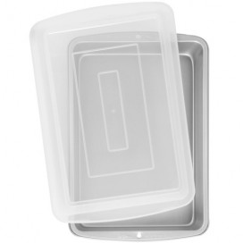 Wilton Recipe Right® Oblong Pan with Cover 32,5x22,5x5cm
