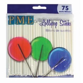 PME 9.5 cm Lollipop Sticks (75vnt)